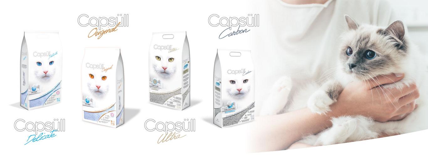 Capsull litière pour chat